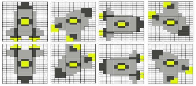 Asteroids - Frames