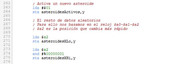 Asteroids - Activar asteroides con X doble
