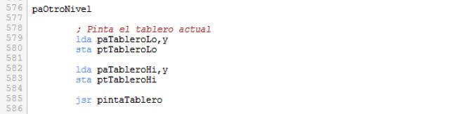 Rutina pintaArbol - parte2
